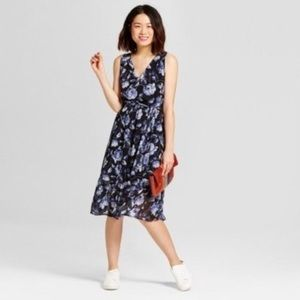 A New Day floral ruffle hem dress